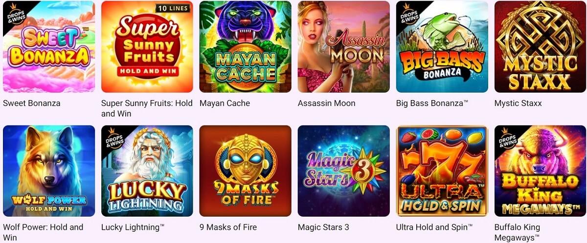 online slots on Boo Casino