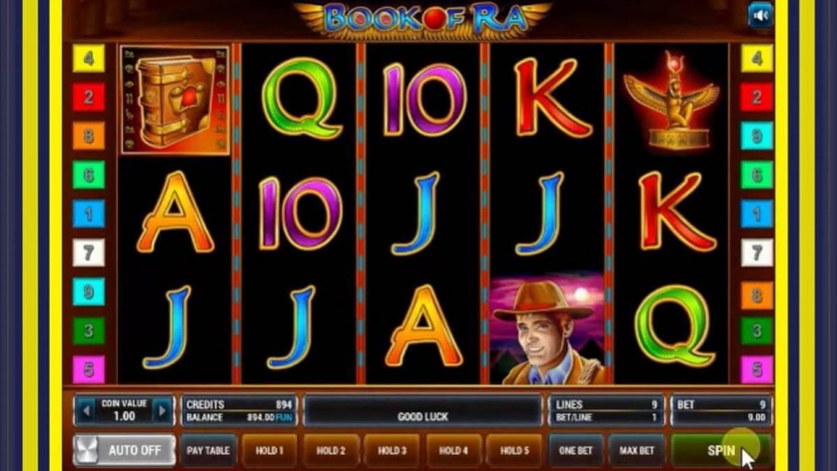 book of ra slot gameplay