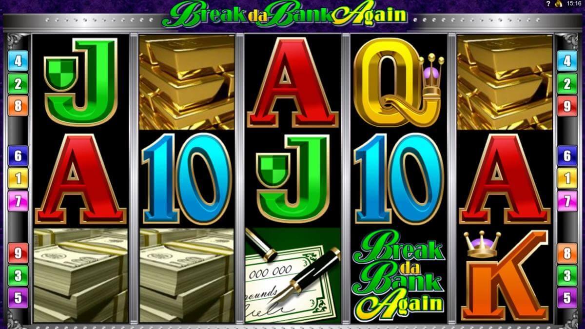 break da bank again slot gameplay