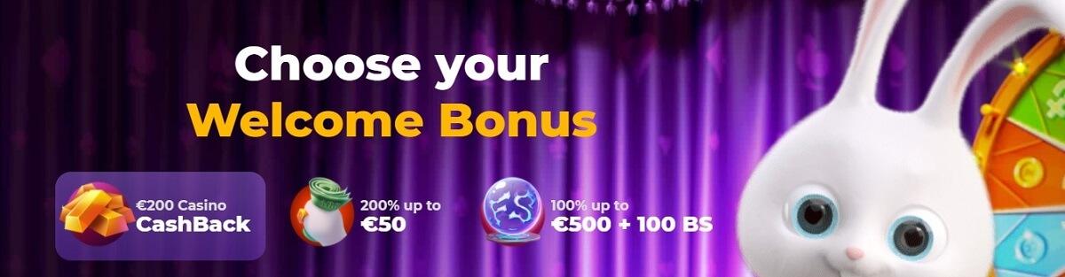cadabrus casino welcome bonuses
