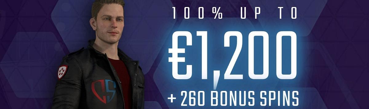 captain spins welcome bonus