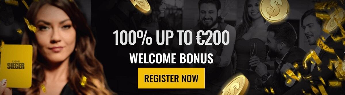 casino sieger welcome bonus
