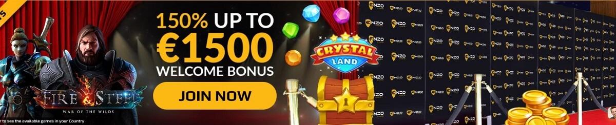 enzo casino bonuses