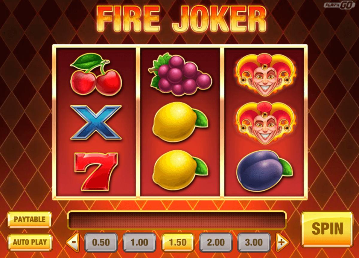 fire joker playn go