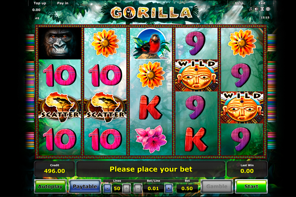 gorilla novomatic
