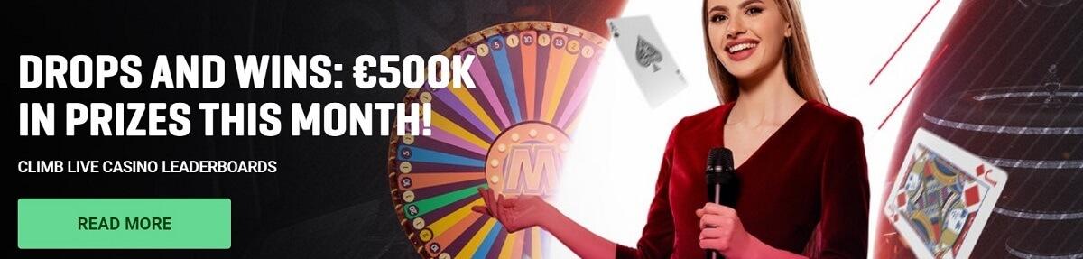 guts live casino offer