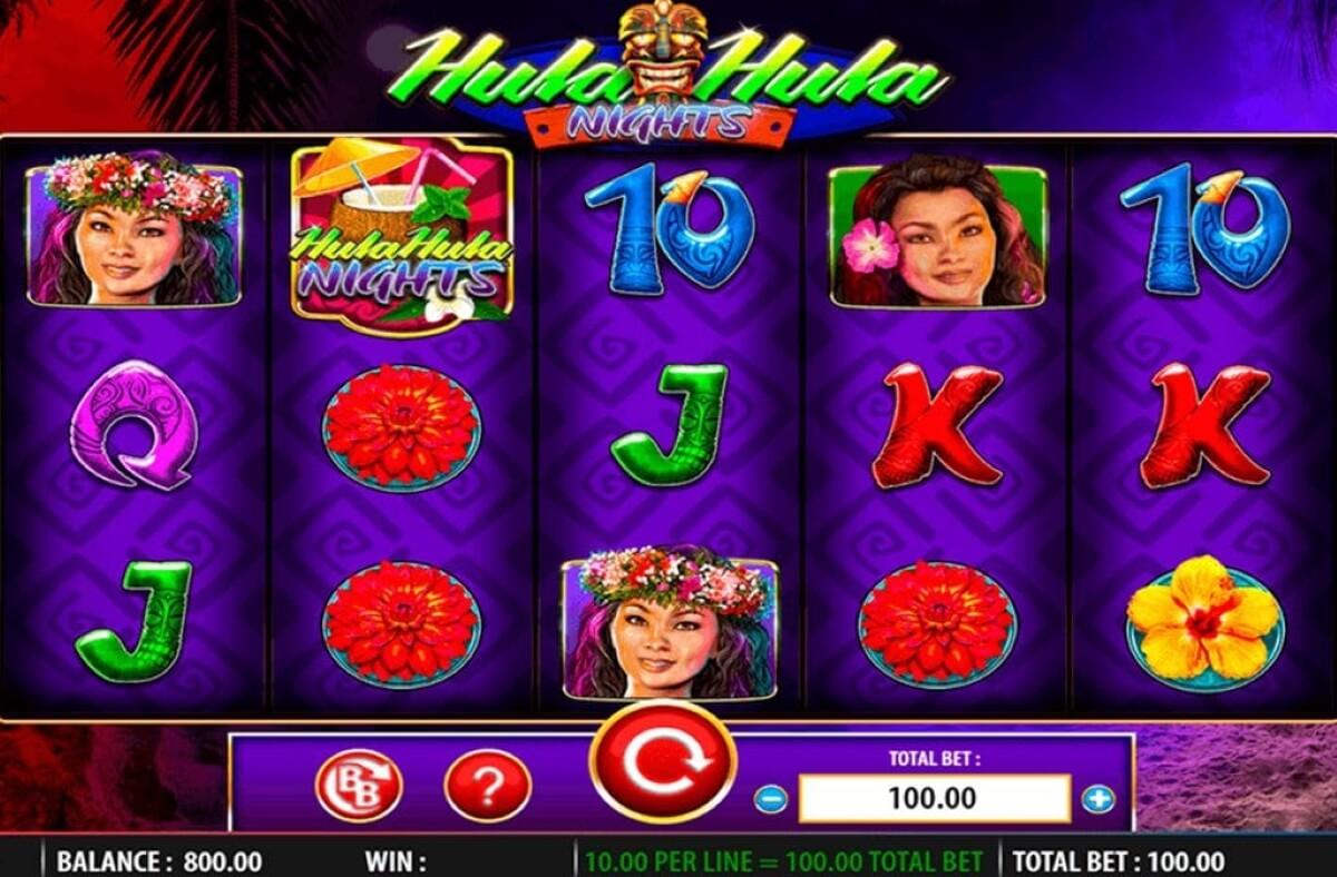 hula hula nights slot gameplay