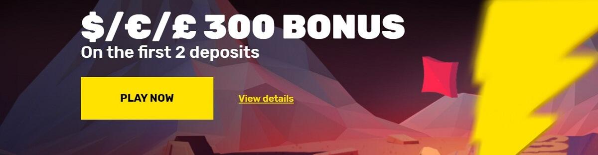 hyper casino welcome bonus