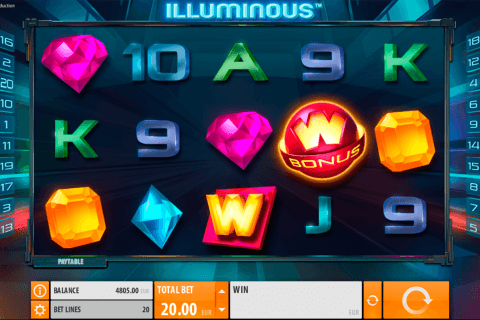 Illuminous Slot Play Illuminous Casino Game