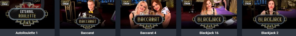 ilucky live dealer games