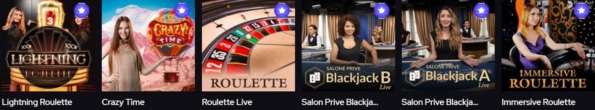 katsubet live dealer games