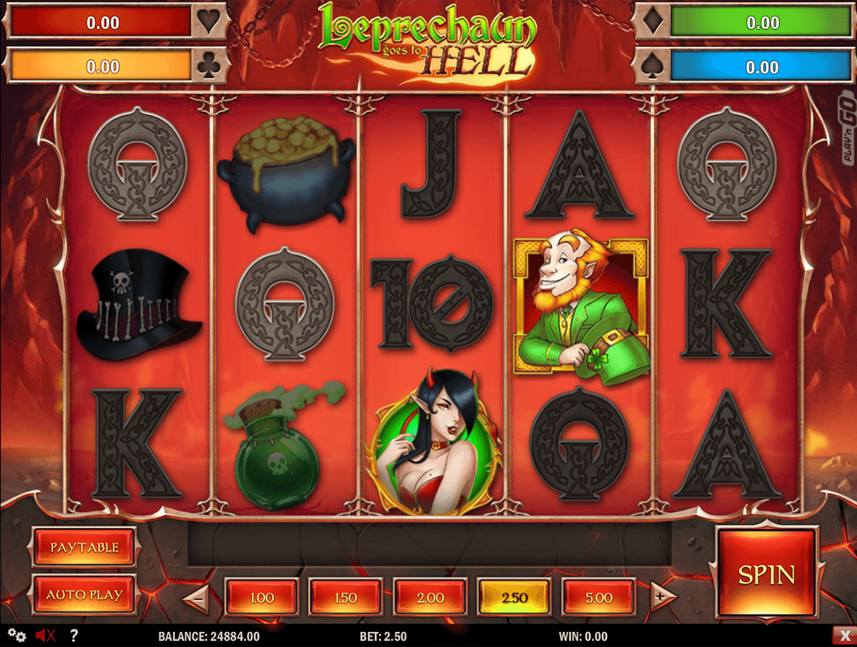 New Leprechaun Goes To Hell Slot Game From PlayN Go