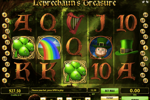 leprechauns treasure tom horn