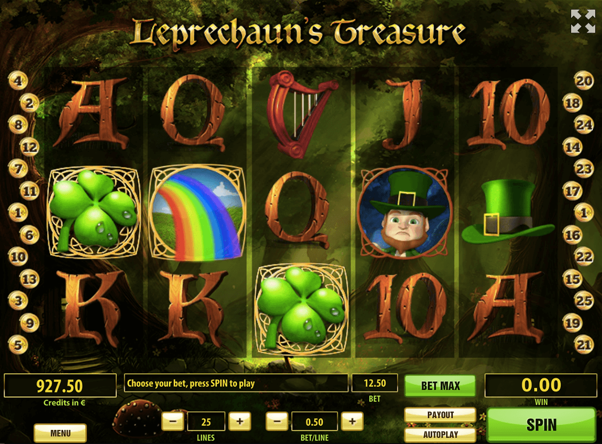 leprechauns treasure tom horn