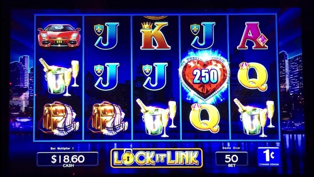 lock it link nightlife slot gameplay