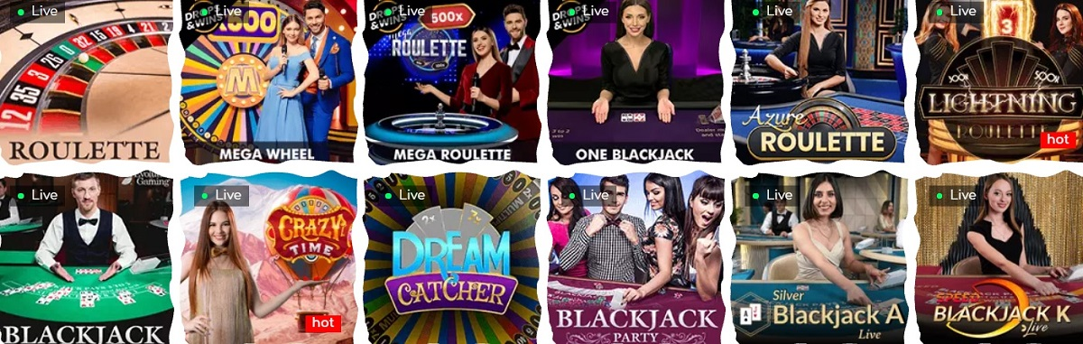 loki casino live games