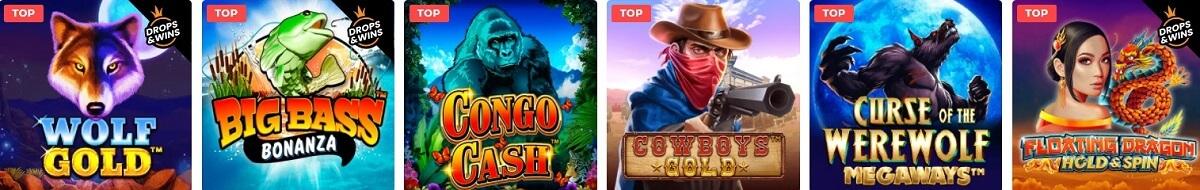 mason slots casino games