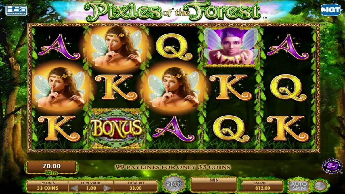 pixies of the forest slot gameplay