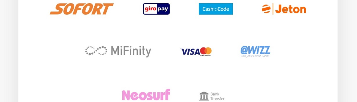 pocketplay payment methods