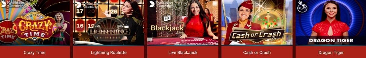 rant casino live dealer games