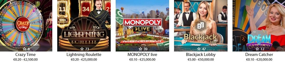 redbet live dealer games