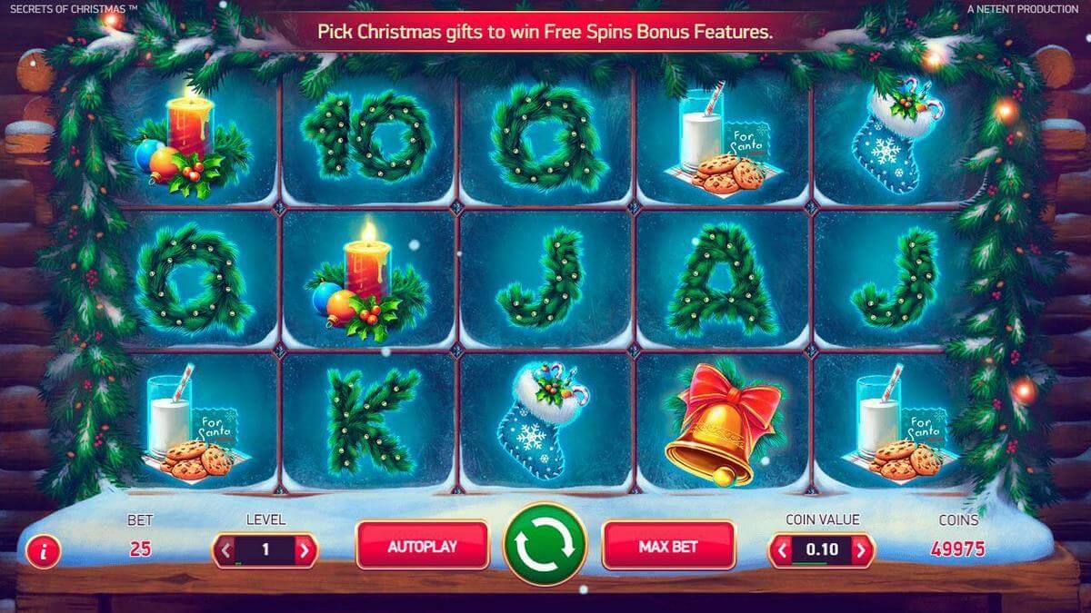 secret of christmas slot