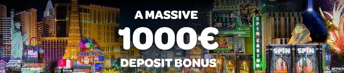 spin palace welcome bonus