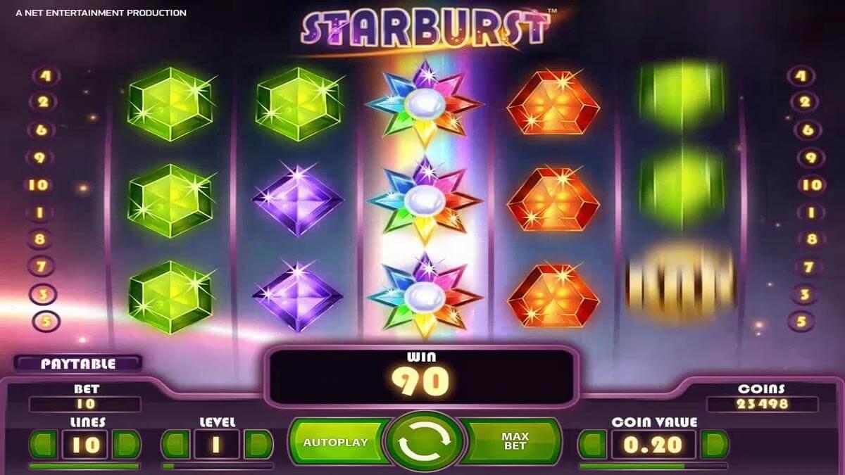 starburst slot gameplay