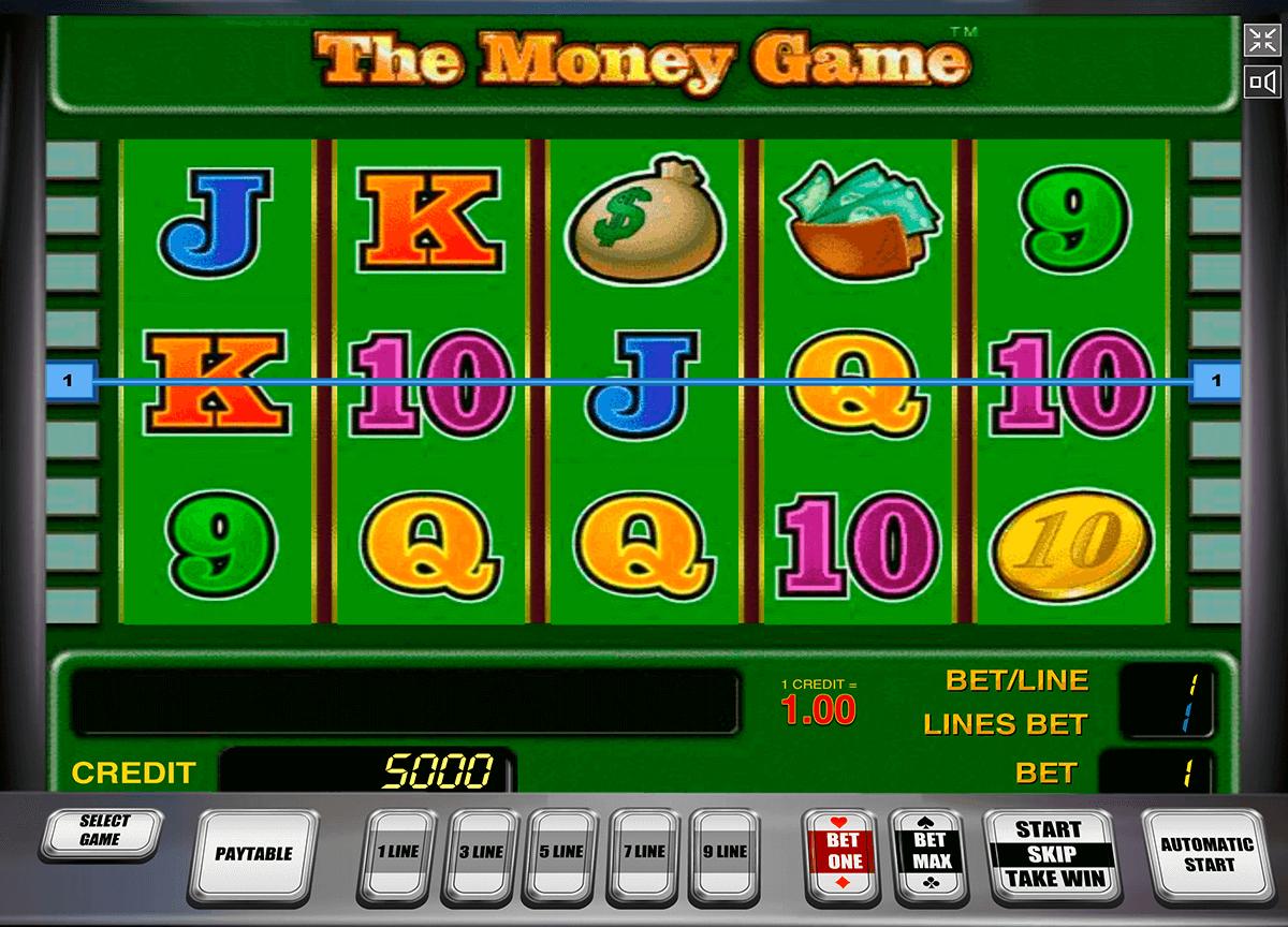 the money game novomatic