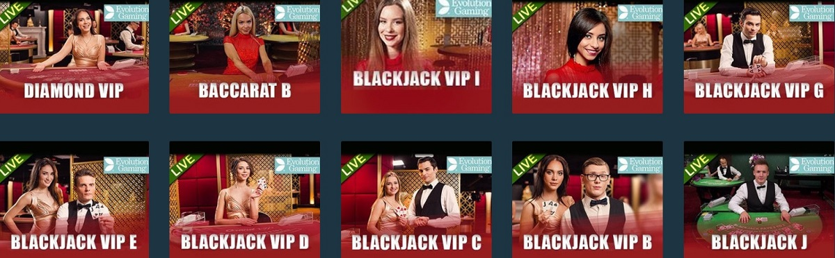 the online casino live games