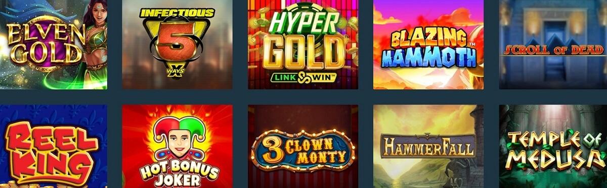 the online casino slots