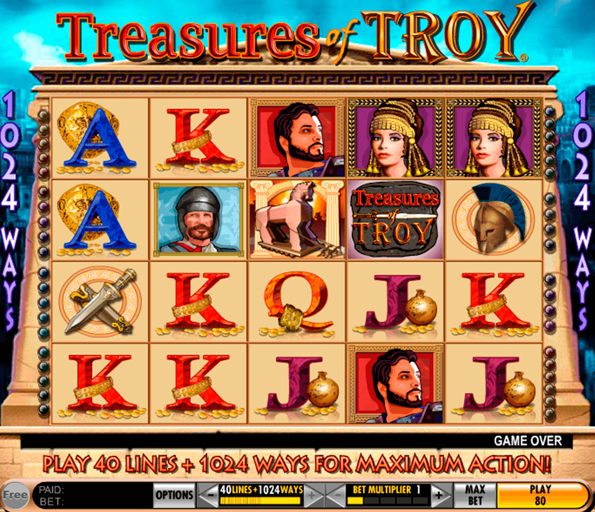 treasures of troy igt