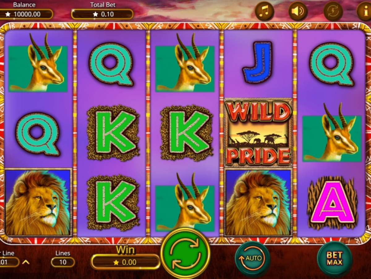 wild pride slot gameplay