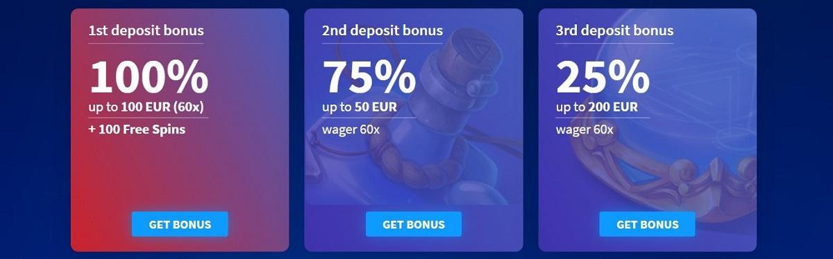 wildblaster welcome bonus