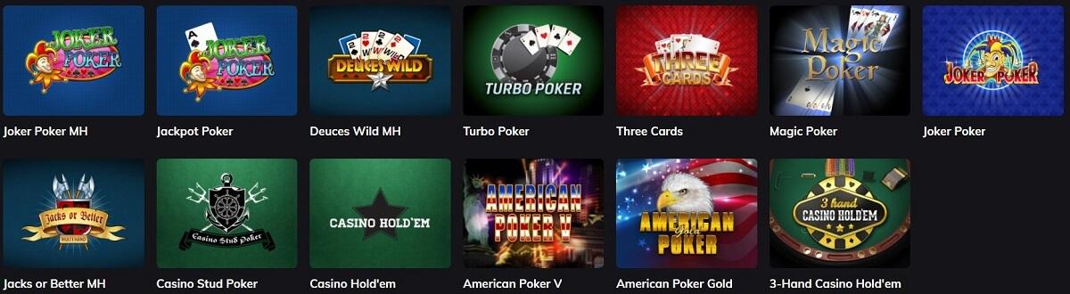 winfest poker games
